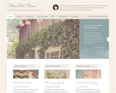 best wordpress themes video blog fabric8ted cute feminine wordpress theme themeshaker com
