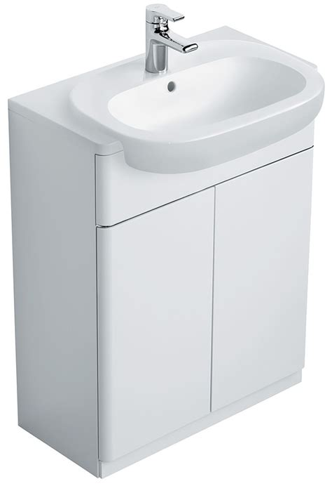 Countertop Basin Units ideal standard softmood semi countertop basin unit white t7818wg