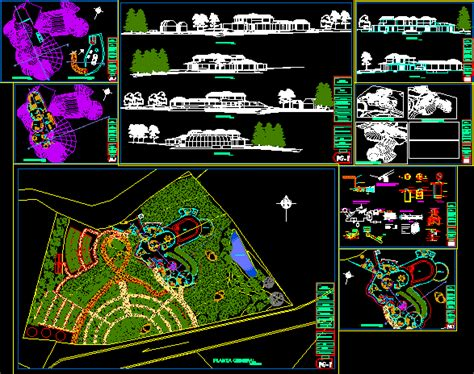 complete planes   housing dwg full project