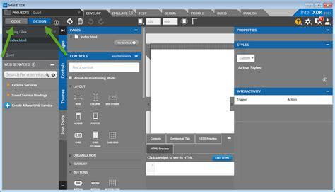 tab design adalah dimensi tutupbotol project pertama intel xdk