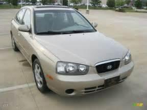 2003 chagne beige hyundai elantra gls sedan 51425526