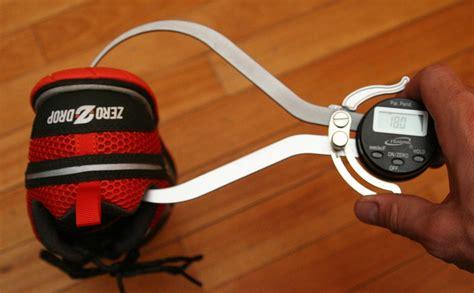 heel drop in running shoes how to measure heel toe drop in a running shoe