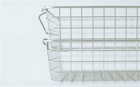 muji baskets 18 8 stainless wire basket 2 w14 6 quot xd10 2 quot xh3 1 quot