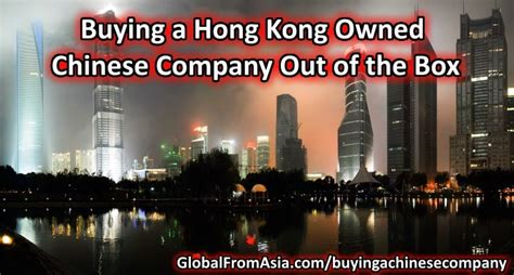 Shelf Company Hong Kong by Buying A Hong Kong Owned Company Out Of The Box