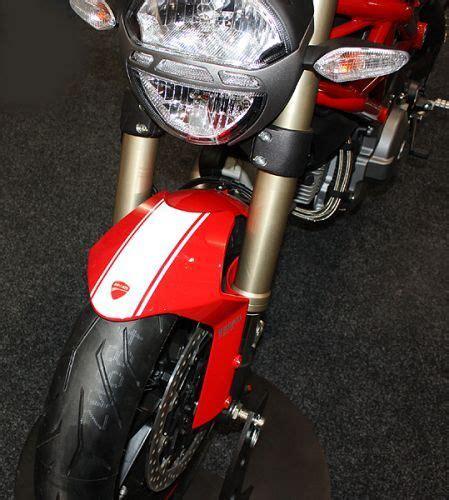 Ducati Monster 1100 Evo Aufkleber by M1100evo Set Aufkleber Tankabdeckung Mitte Hinten Wei 223