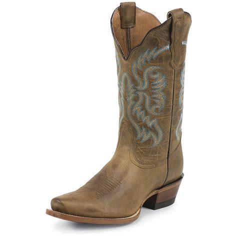 s nocona boots s nocona 11 quot west boot 578422 cowboy