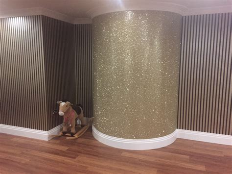 glitter wallpaper paint glitter wallpaper inspiration design blog the best