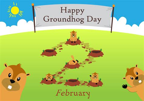 groundhog day x files groundhog day free vector stock graphics