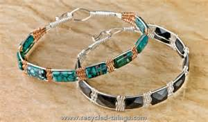 stylish wire jewelry ideas recycled things