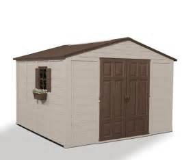 resin storage sheds