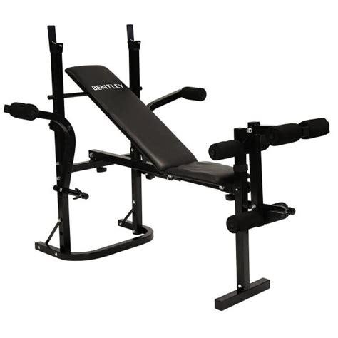 multi purpose weight bench multi purpose weight training bench in black or red buydirect4u
