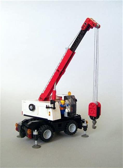 Mini Motorrad Mobile by Lego Crane Lego Crane Mobile Brickadelics Moc