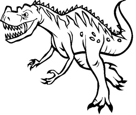 ceratosaurus coloring page dinosaurs pictures and facts