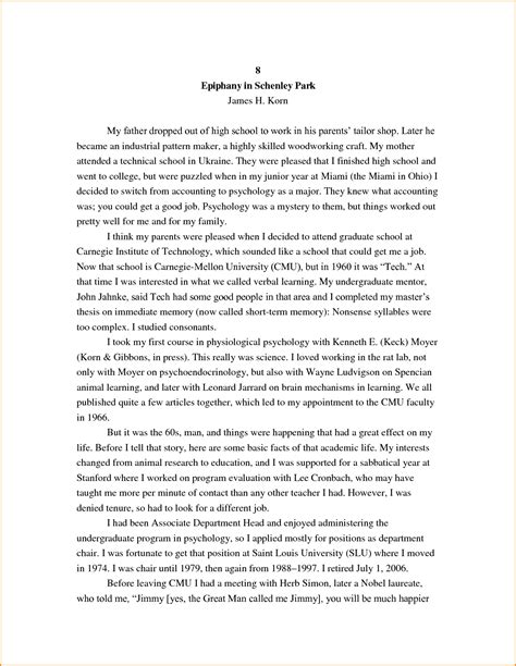 biography essay about exle autobiography essay high school exles of a