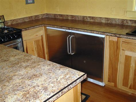premade laminate kitchen countertops best laminate - Kitchen Countertop Edges