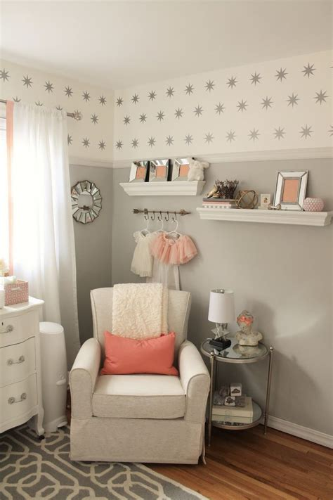 ideas  peach nursery  pinterest girl
