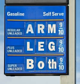 why do gas prices always end in 9/10 of a cent? (with
