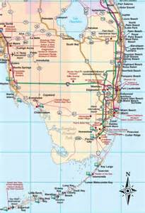 map of se florida florida road map florida backroads travel has 9 of them