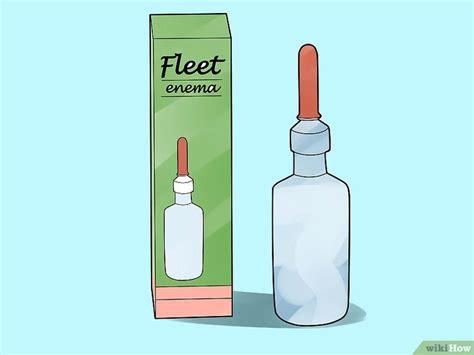 clistere acqua rubinetto 4 modi per praticare un clistere wikihow
