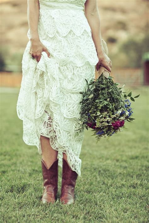 country dresses with boots 137 best wedding boots