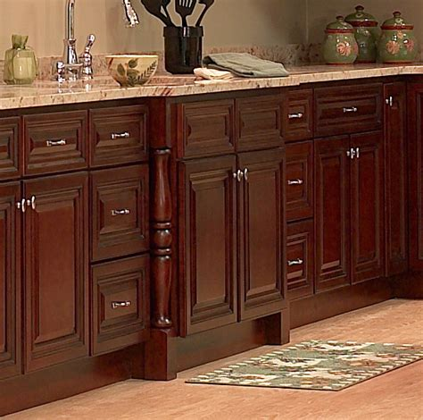 Cherry Kitchen Cabinets Pictures dark cherry wood cabinets