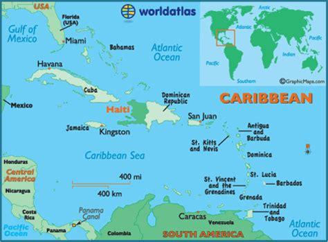 geography of haiti, landforms world atlas