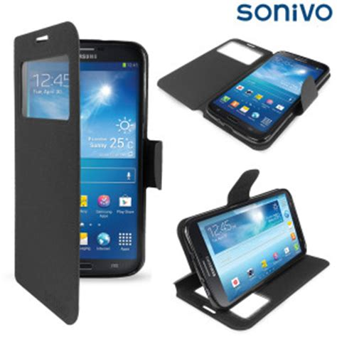 Flipcover Mega 63 Samsung Galaxy S View Flipcase Flip Cover sonivo sneak peek flip for samsung galaxy mega 6 3 black
