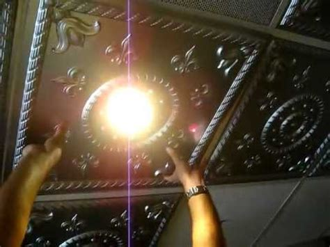 ceiling lights near me how to intall ceiling tile around light fixture grid youtube