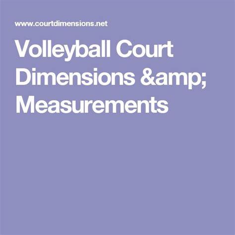backyard volleyball court dimensions 25 best ideas about volleyball court dimensions on