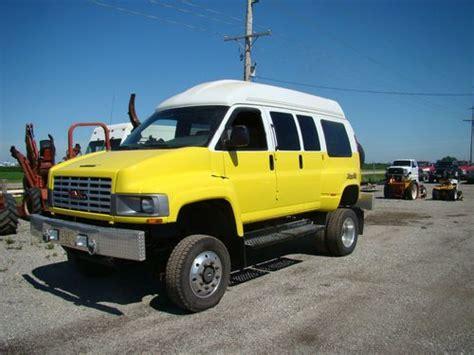 gmc savana 4x4 for sale sell used custom conversion show 4x4 show