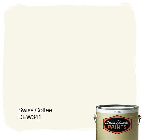 dunn edwards paints swiss coffee dew341