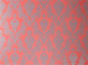 Damsel self adhesive removable wallpaper coral 20 5 in