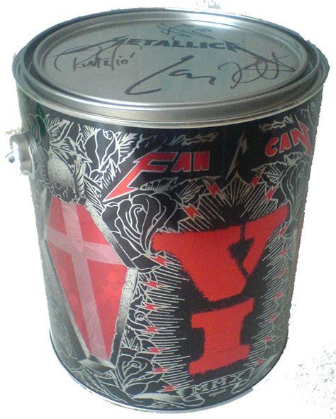 fan in a can metallica fancans