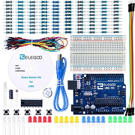 tutorial arduino uno r3 pdf elegoo el kit 004 uno project basic starter kit with