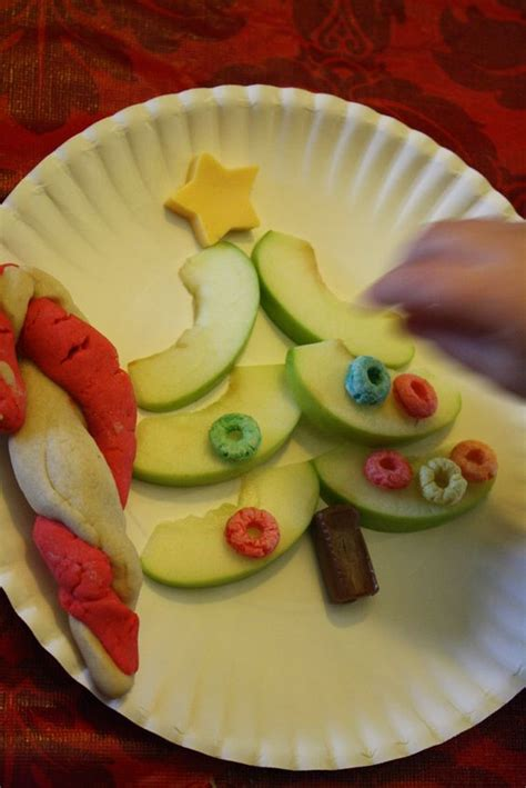 tree snacks apple slice tree snack with cheese for the