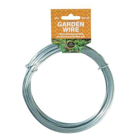 20m garden wire 1 6mm galvanised