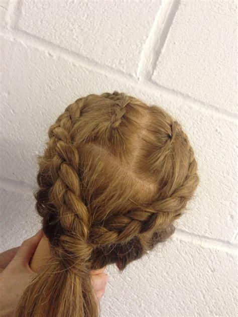 plaiting hair to grow it on scalp plait scalp plaits my work pinterest plaits