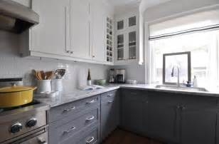 Two Tone Grey Kitchen Cabinets Gray Cabinets Grey And Gray Kitchens On