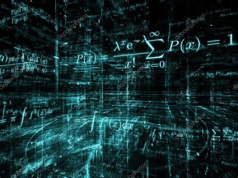 imagenes abstractas matematicas abstracci 243 n de las matem 225 ticas foto de stock 24949145