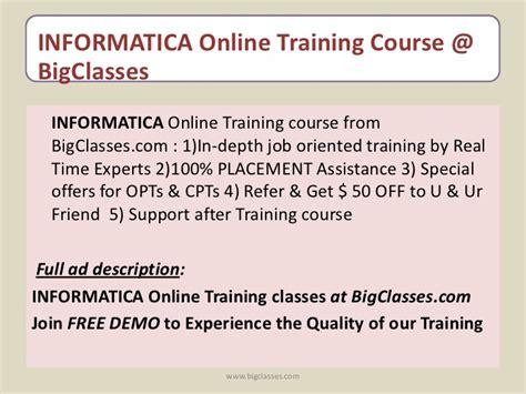 online tutorial for informatica informatica online training informatica training online