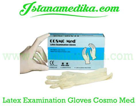 Sarung Tangan Examination Glove jual examination gloves cosmo med istana medika