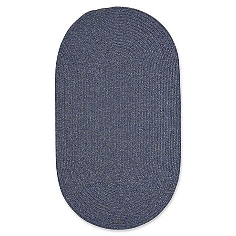 oval outdoor rugs capel rugs candor oval braided indoor outdoor rug in blue