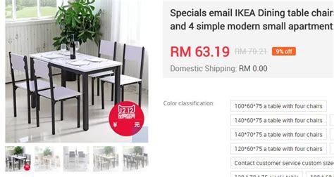 Meja Billiard Yang Murah beli meja makan dapur yang murah ecommerce in malaysia