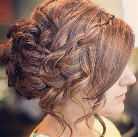 brady braided formal updo elegant braided updo for prom prom hair makeup and nail