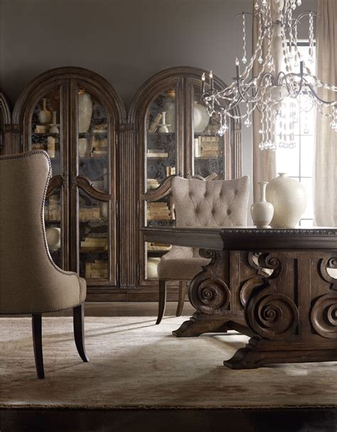hooker furniture dining room rhapsody 72 quot round dining hooker furniture dining room rhapsody tufted dining chair