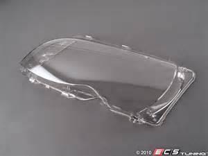 ecs news bmw e46 3 series 4 door headlight lenses