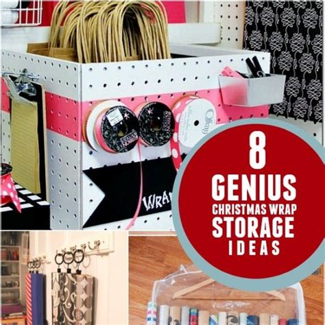 gift wrap storage ideas 1000 ideas about gift wrap storage on