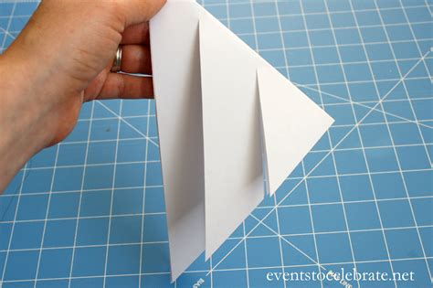 how to make a 3d paper snowflake events to celebrate