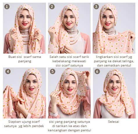 Foto Jilbab Segi Empat Terbaru cara memakai segi empat modern ala dewi