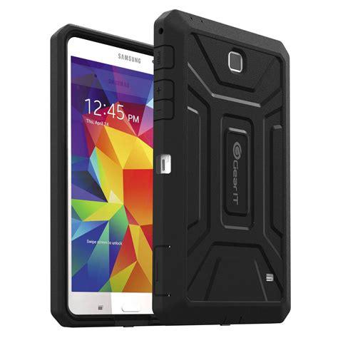 Casing Samsung Tab 4 gearit shoxx tpu pc hybrid tablet gi galx7 tab4 shx bk b h